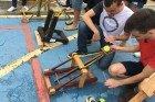 O UniFOA, a física e a criação de catapultas medievais